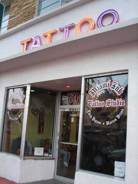 Miami Ink, South Beach, Florida